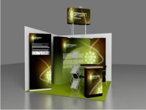 Разработка трехмерного макета выставочного стенда - услуги компании «ВиАрт»