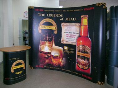 Рекламные стенды изготавливаются в короткие сроки