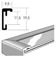 Изготовление рамок, алюминиевый профиль Nielsen
