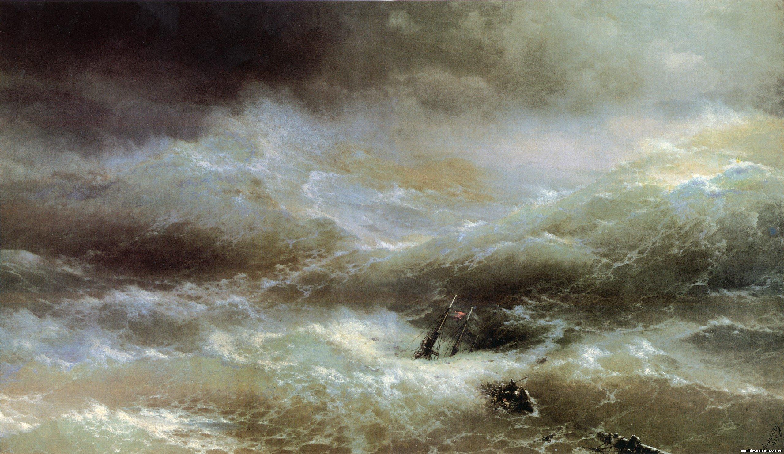 Картины айвазовского в высоком разрешении волна