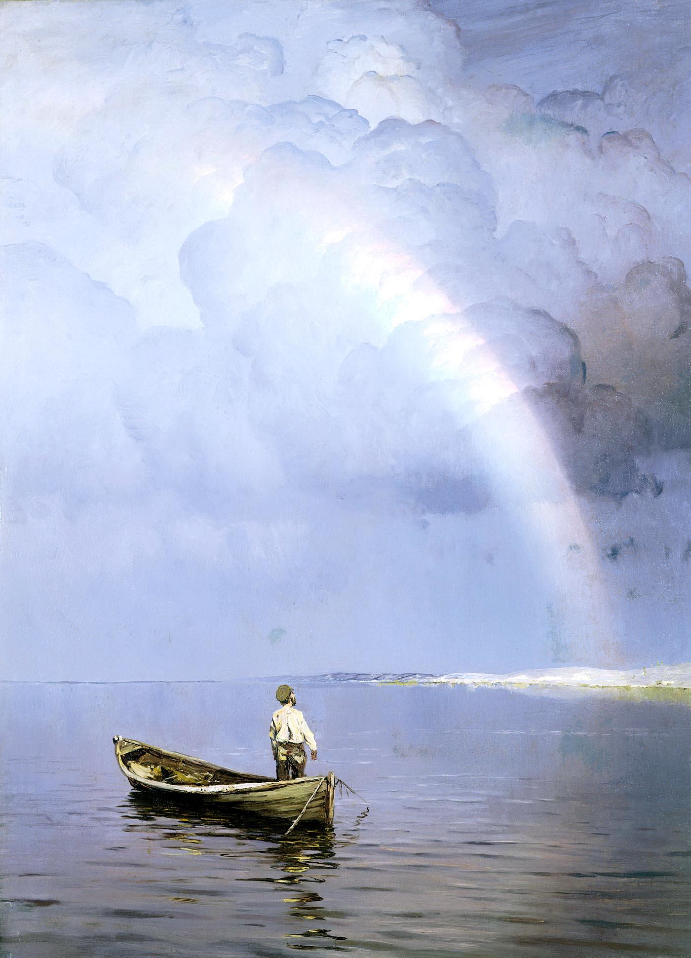 Описание картины море н дубовского