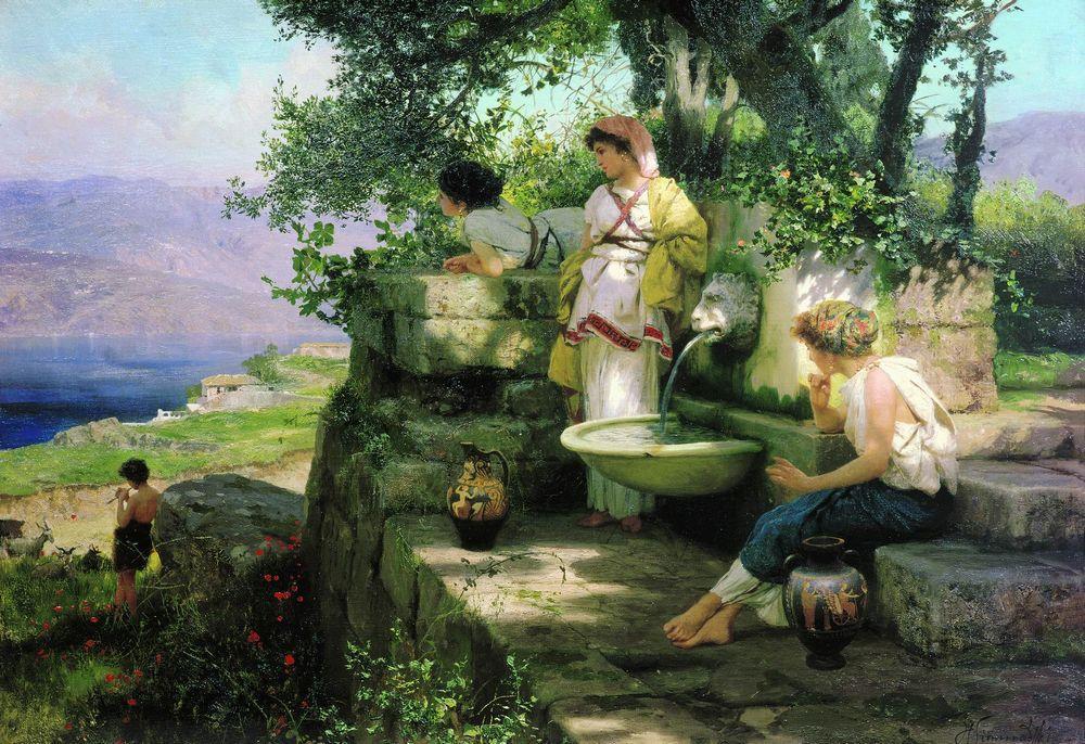 Вышивка крестом картин русских художников 89