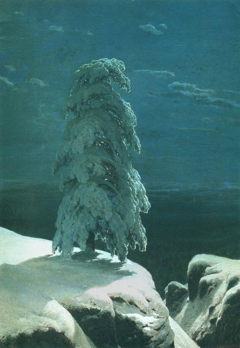 Фотобанк картин Шишкина Ивана - картины русских художников ... Лесные Дали Шишкин