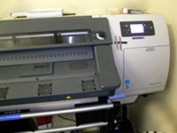 Печатный широкоформатный плоттер HP Designjet L25500 для наружной и интерьерной печати