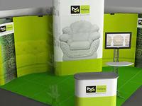 Выставочное оборудование мебельной фабрики