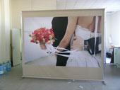 Рекламные конструкции компании «ВиАрт» выполненные на основе системы профилей Joker